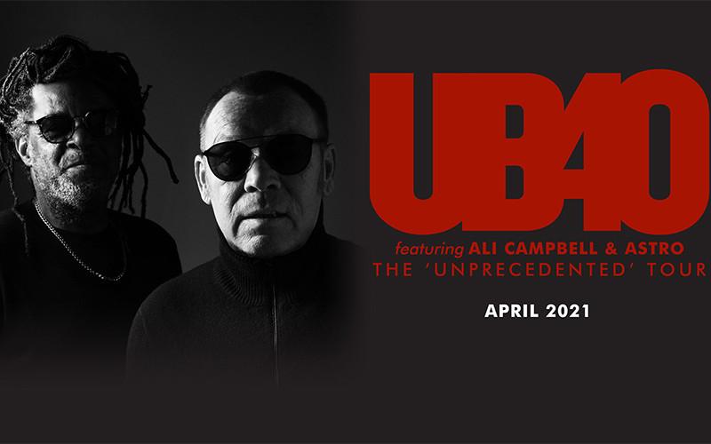 UB40 Hospitality Tickets